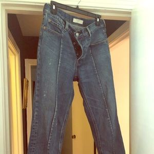 Levi's Cropped Ankle Jeans